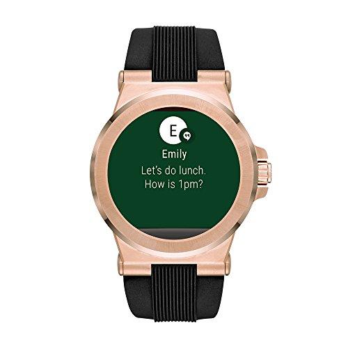 michael kors access touchscreen black dylan smartwatch mkt5010. Black Bedroom Furniture Sets. Home Design Ideas