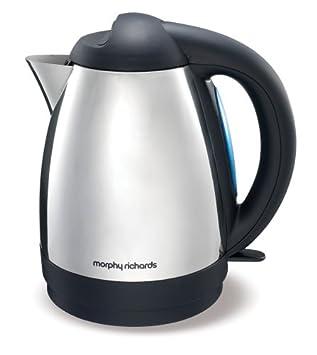 morphy richards essentials 43027 jug kettle   stainless steel morphy richards essentials 43027 jug kettle   stainless steel      rh   amazon co uk
