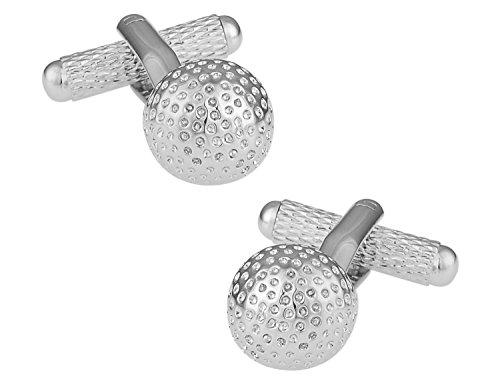 Golf Ball Golfer Cufflinks Cuff Daddy product image