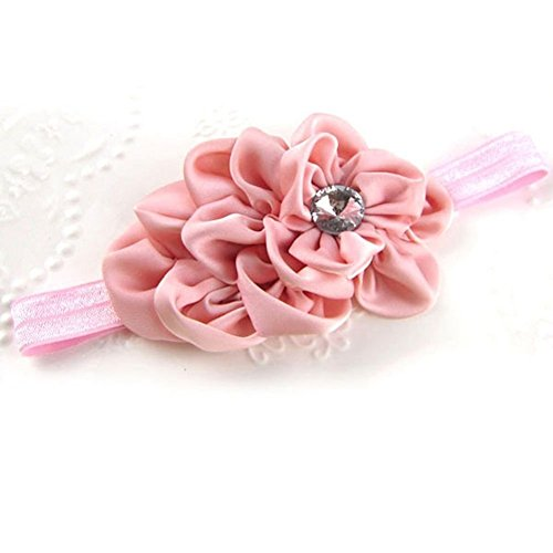 Joy Baby Girls' Crystal Flower Headband One Size Multi-Color