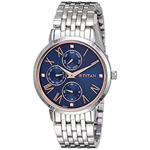 Titan Ladies NeoIi Analog Blue Dial Women's Watch NM2569SM01 / NL2569SM01