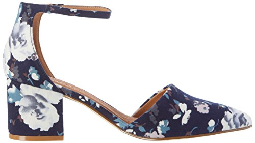 Bianco Women's Devided Pump 24-49252 Closed Toe Heels Blue (Navy Blue) discount exclusive NTB71GH