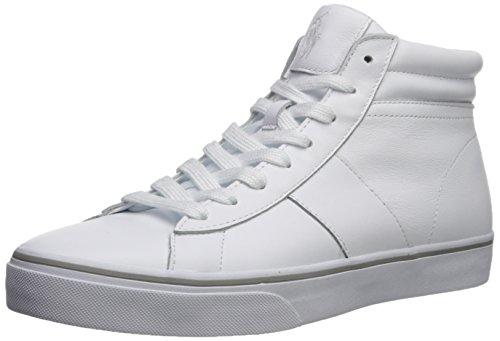Polo Ralph Lauren Mænds Shaw Sneaker Hvid TNoPE5z