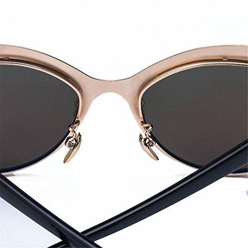 Gafas Deportes Adecuado polarizadas Espejo polarizadas de Gafas piloto para Sol Mujer Gafas Rana Aire al para Sol Sol Libre Viajar polarizadas de Gafas de Piloto Volar de de Twr6T