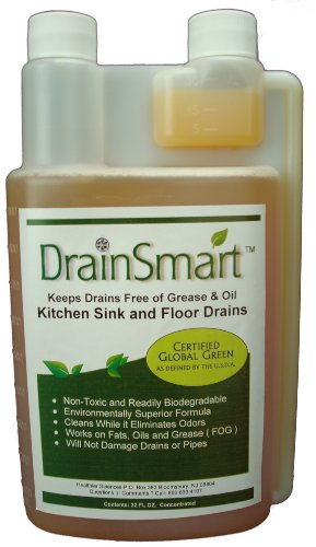 Healthier Sciences Drain Smart Non-Toxic Enzyme Cleaner f...