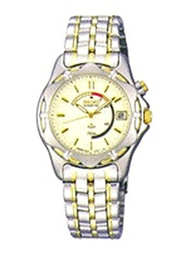 Reloj Seiko Kinetic de Mujer en Acero Dorado Bicolor SWP006P1.: Amazon.es: Relojes