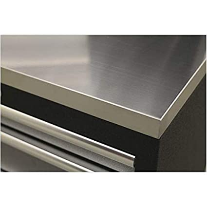 Sealey APMS50SSC 2040mm Stainless Steel Worktop