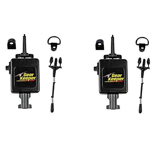 Mic Keeper Pin Mount - LOT OF 2 Gear Keeper RT3-4112 Heavy Duty Retractable CB Radio Microphone Hanger