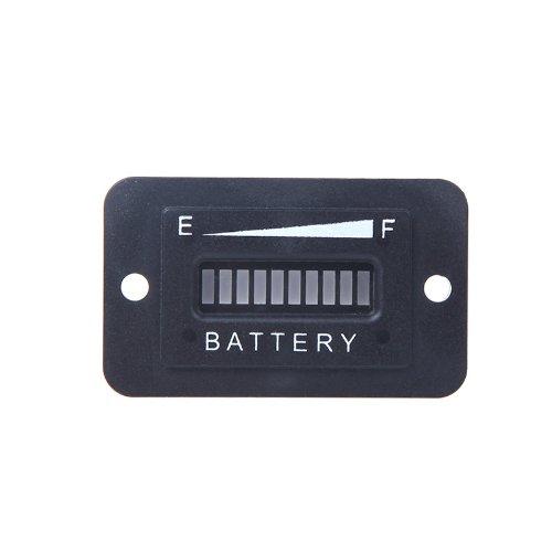 docooler Battery Status Charge Indicator Monitor Meter Gauge LED Digital 12V&24V SRT-BI03