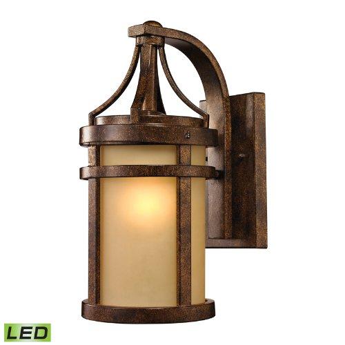ELK 45096/1-LED, Winona Outdoor Wall Sconce Lighting LED, Hazelnut Bronze Review