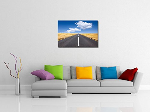 Beautiful Landscape Scenery Carefree Driving on a Bright Sunny Day Wall Decor