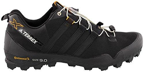 Black Shoes Bike Adidas (adidas outdoor Men's Terrex X-King Black/Black/Chalk White 8 D US)