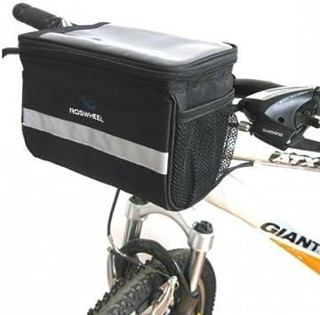 Bike Bicycle Bags Handlebar Front Tube Pannier Basket Frame Cycling Bag