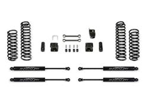 Fabtech FTS24104 Coil Spring with Stealth Shock