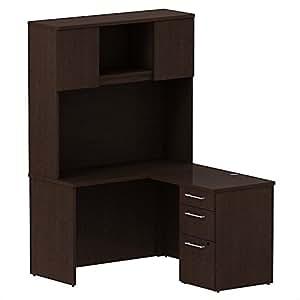 Amazon Com Bush Bbf 300 Series 48 Quot L Shaped Desk With