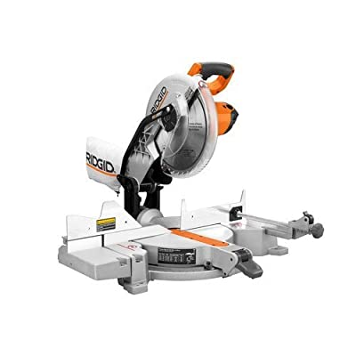 Factory-Reconditioned Ridgid ZRR4112 15 Amp 10 in. Dual Bevel Compound Miter Saw