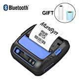 80mm Thermal Receipt Printer Wireless Bluetooth Shipment Label Maker Printer 3 in 1 MUNBYN Mobile Printer for Windows Android iPhone iPad with 2600 mAh Rechargeable Battery Supported ESC/POS