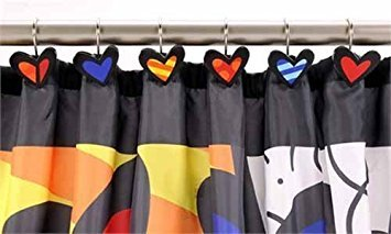 Britto a New Day Shower Curtain Hooks, 12/set