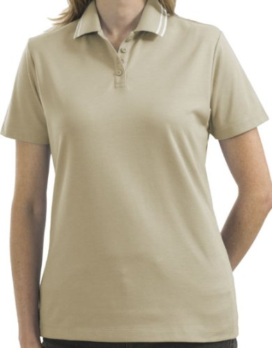Ladies Pima Select Sport Shirt with Trim (up to size 2X)