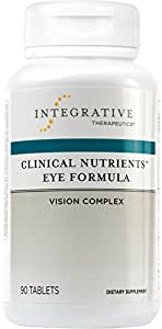 Integrative Therapeutics - Clinical Nutrients Eye Formula - Vision Complex for Eye Health - 90 Tablets