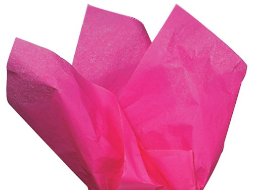 Hot Pink Tissue Paper 20 Inch X 30 Inch - 48 Sheets