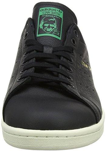 Collo Stan Nero Basso Sneaker a Verde Core Uomo Core Black Green Smith adidas Black XI0wdI