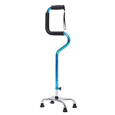 Portable anciano andador retráctil bastón auxiliar para ...