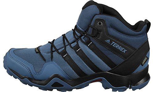 Adidas Herren Terrex Ax2r Mid Gtx Wanderstiefel, Blau (Azubas/Negbas/Azumis), 48 EU