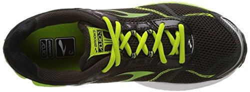 BrooksAduro 3 - Zapatillas de Running Hombre Negro - Schwarz (Phantom/LimeGreen/Black)
