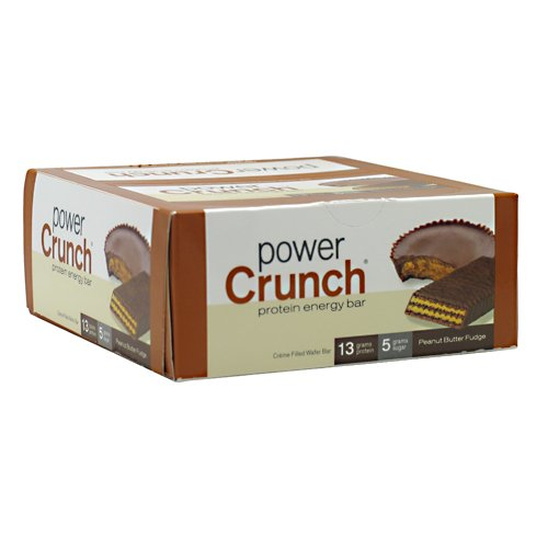 Bio Nutritional - Power Crunch Cookie - 12 per Box - Peanut Butter (Bio Protein Bar Peanut Butter)