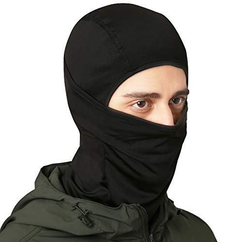 Tough Headwear Balaclava - Windproof Ski Mask - Cold Weather Face Mask for Skiing, Snowboarding, Motorcycling & Winter Sports - Ultimate Protection from The Elements. Fits Under Helmets (Man Finds Woman Living In His Vents)