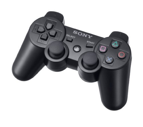 dualshock 3 wireless controller for ps3 charcoal black. Black Bedroom Furniture Sets. Home Design Ideas