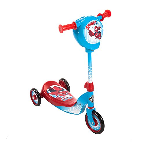 Huffy Secret Storage Scooter Boys - Spider-Man - Huffy Scooters For Boys