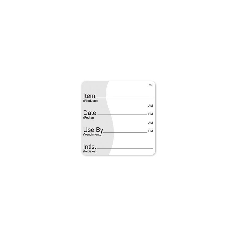 DayMark 112475 MoveMark 2'' Item / Date / Use By Label - 500 / RL