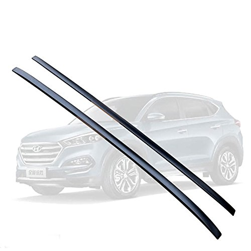 Roof Rack For Hyundai All New Tucson 2016 2017 Baggage Luggage Roof Rail Black