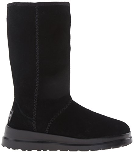 Skechers Acariciar-alto arranque de invierno Black