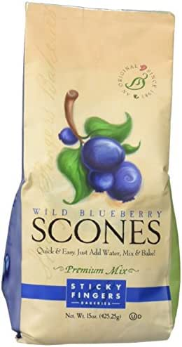 Baking Mixes: Sticky Fingers Scones Mix
