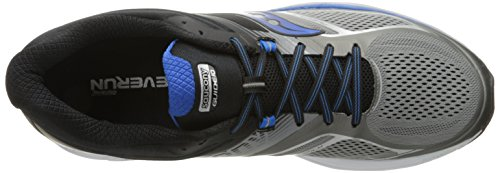 Saucony Men's Guide 10 Running Shoes, Grey Black, 14 D(M) US by Saucony (Image #9)'