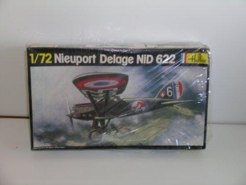 heller-french-ww-ii-nieuport-delage-nid-622-plastic-model-kit