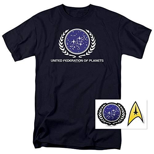 (ManTee Star Trek United Federation of Planets T Shirt 5XL)
