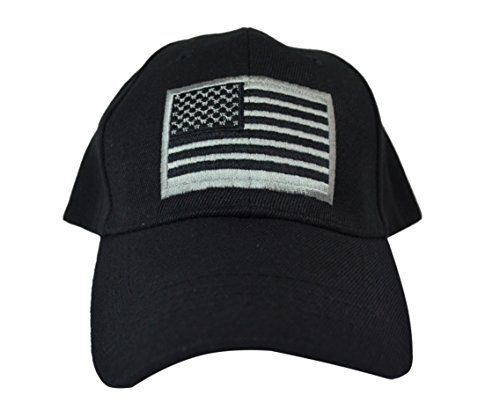 itary Tactical Operator Baseball Cap. One Size Fits All Adjustable Cap. Comfortable Lightweight Hat with Embroidered Flag (Black) (Swiss Army American Flag)