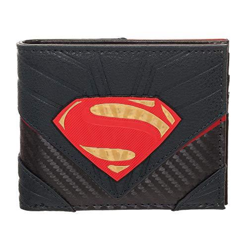 Superman Wallet Justice League Wallet Superman Accessory - DC Comics Wallet Superman Gift