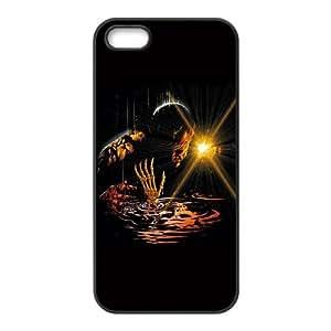 Sinestro Skeleton iPhone 5 5s Cell Phone Case Black Delicate gift AVS_591571
