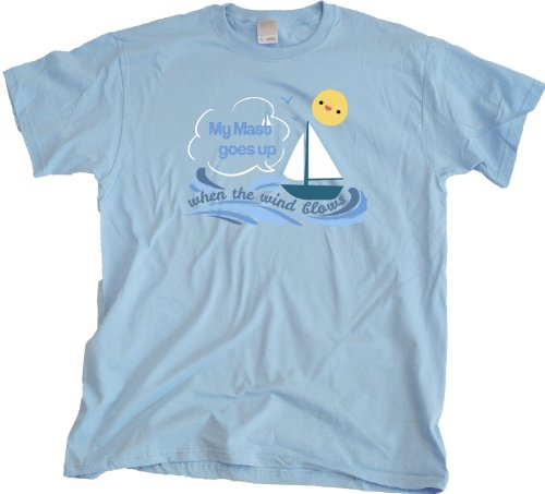 Ann Arbor T-Shirt Co. Men's My Mast Goes Up When The Wind Blows T-Shirt