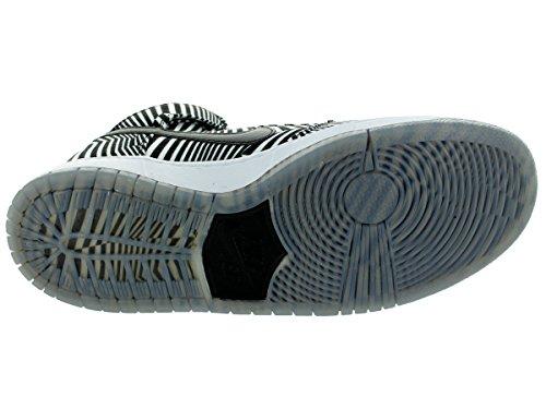 Nike Heren Dunk Premium Sb White / Black Skate Schoen 13 Heren Ons