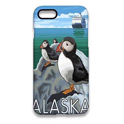 Alaska Penguins - Alaska Penguin 3D Print Customized Hard PC Case for iPhone 7 and iPhone 8 White