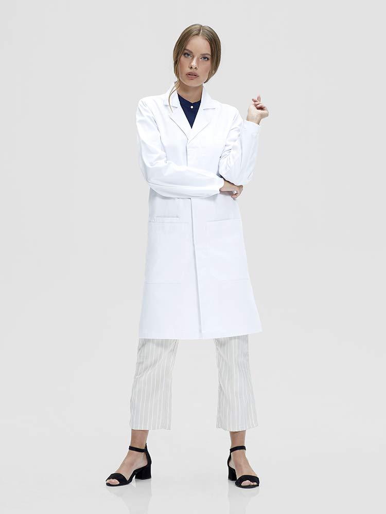 Dr. James Professionally Designed Unisex Lab Coat - 39 Inch Length US-01-2XS by Dr. James (Image #4)