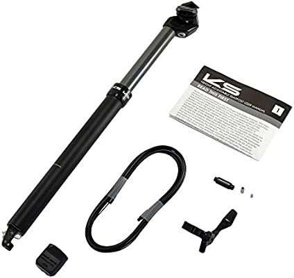 Kind Shock KS ETEN-R 27.2x410mm Remote Dropper Seatpost Travel 100mm