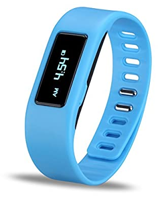 Braudel® 2015 HOT NEW Outdoor Sports Waterproof Bluetooth Smart Intelligent Watch Ip65 Phone Mate for iPhone IOS Android HTC Samsung, Fashion Cool Smartband Fitbit Wristband Bracelet,Fitness Activity Tracker Creative Gift, Black