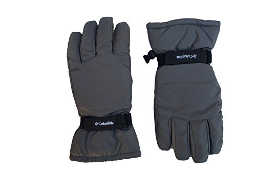 Columbia Boys Y Core Gloves (Small, Grey (1813111030) / Black) by Columbia (Image #1)